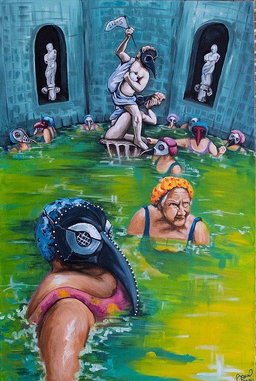 Dystopian Bath House