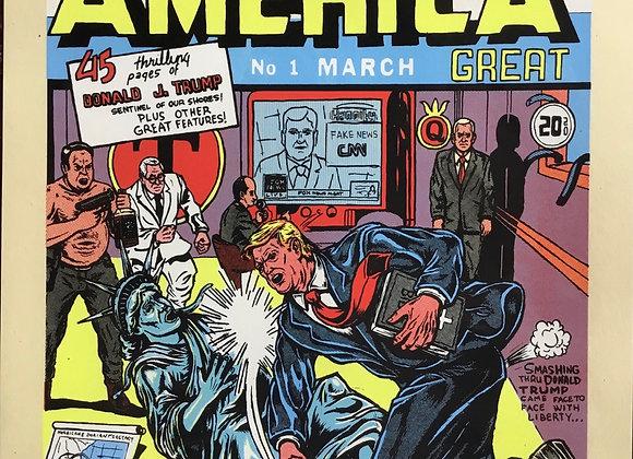 Joe Tallman- Keep America Great- Hand pulled print