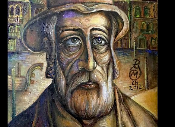 Hasidic Man- Jovan Mihailovic
