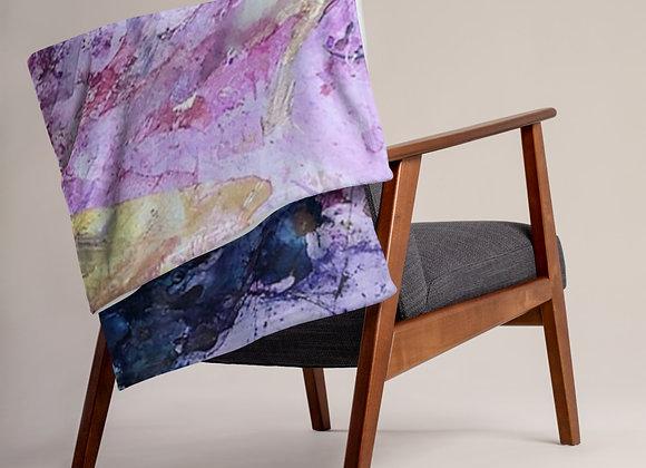 Nicole Landreth design Throw Blanket