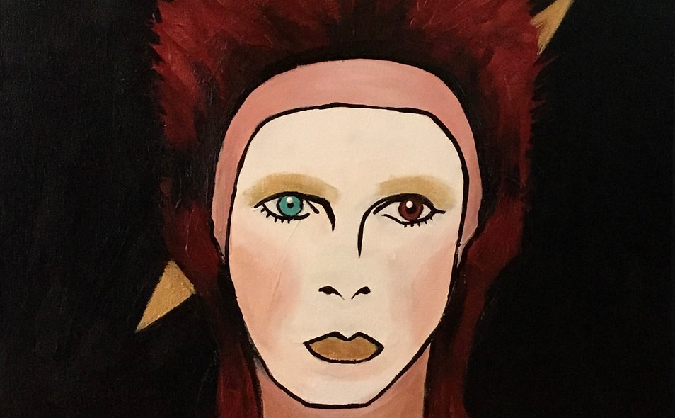 Music & Painting night- Bowie!
