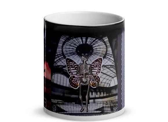 Dylan collage Glossy Magic Mug