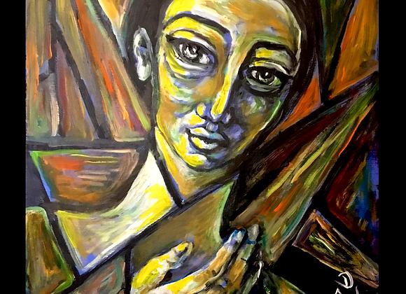 Stained Glass Girl- Jovan Mihailovic