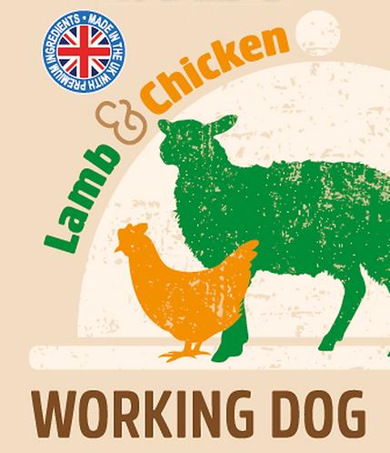 Raw Menu Working Dog Lamb & Chicken Dinner 500g