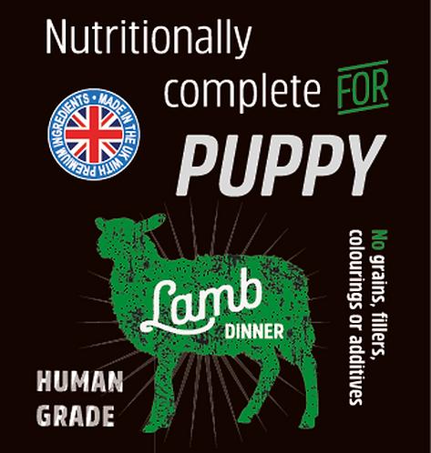 Raw Menu Puppy Lamb Dinner 500g