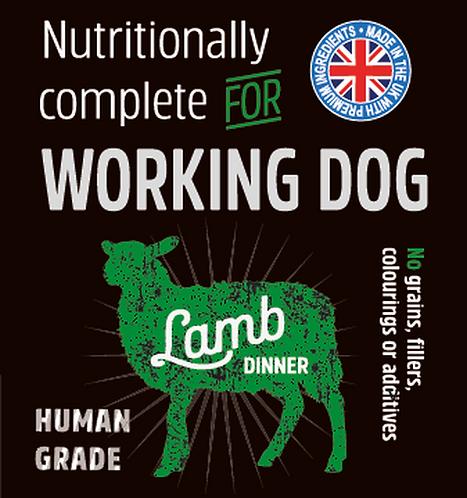Raw Menu Working Dog Lamb Dinner 500g