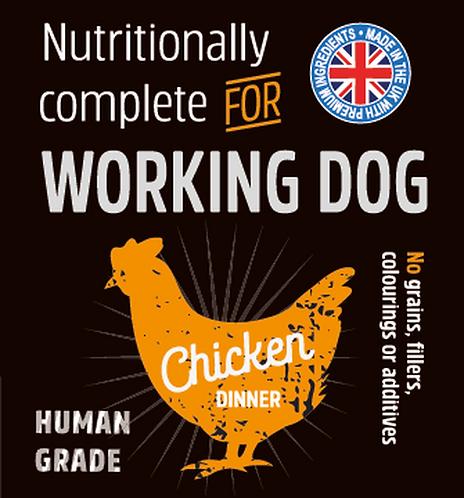 Raw Menu Working Dog Chicken Dinner 500g