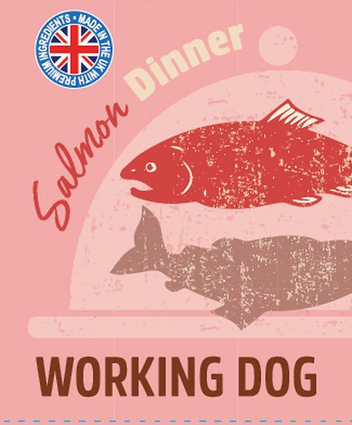 Raw Menu Working Dog Salmon Dinner 500g