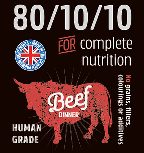 Raw Menu Ground Beef (80/10/10) 500g