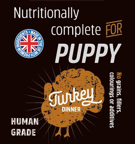Raw Menu Puppy Turkey Dinner 500g