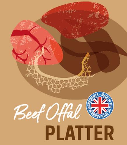 Raw Menu Beef Offal Platter 500g