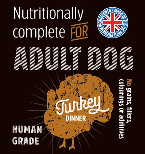 Raw Menu Adult Dog Turkey Dinner 500g
