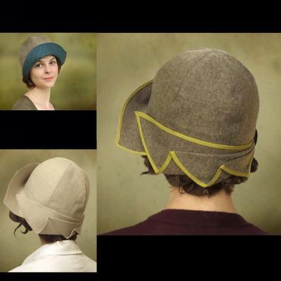 Make a 1920s style Cloche Hat