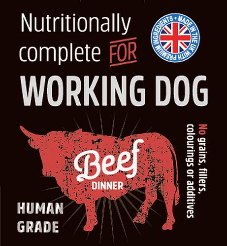 Raw Menu Working Dog Beef Dinner 500g