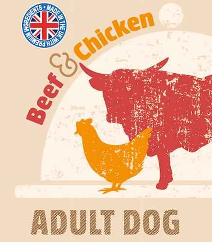 Raw Menu Adult Dog Beef & Chicken Dinner 500g