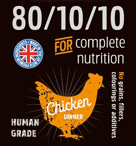 Raw Menu Ground Chicken (80/10/10) 500g