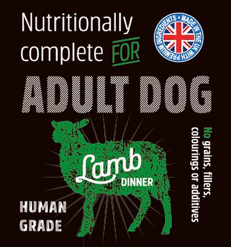 Raw Menu Adult Dog Lamb Dinner 500g