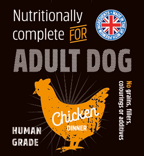 Raw Menu Adult Dog Chicken Dinner 500g