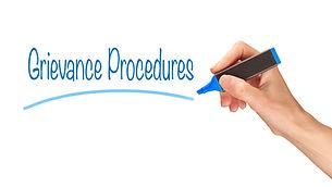 Grievance Procedures, Induction Training headlines concept..jpg