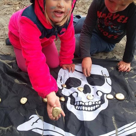 Hunting for Treasure at Oyster Beach