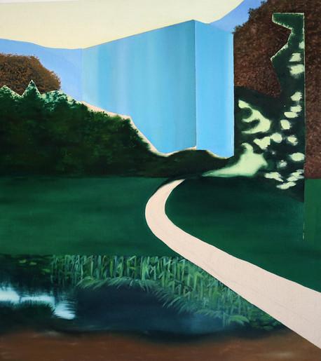 Shadow-Selves.-2017.Oil-on-Canvas-on-boa