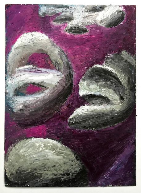 Alliance,-Oil-Pastel-on-Watercolour-Pape
