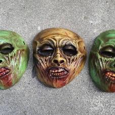 Mini Zombie Masks Gore Variant