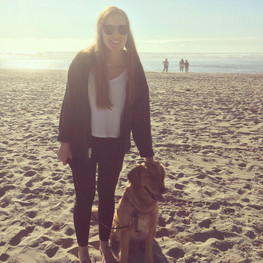 Bella & Kelsey at Cannon Beach