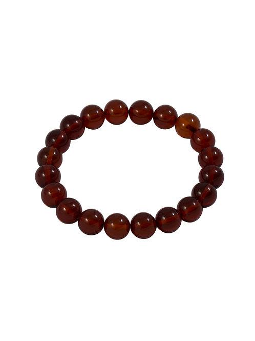 Red Amber Bracelet