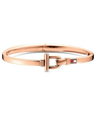 Tommy Hilfiger Bangle Bracelet Rose Gold