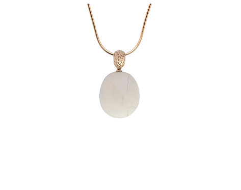 Pureosity White Amber Pendant