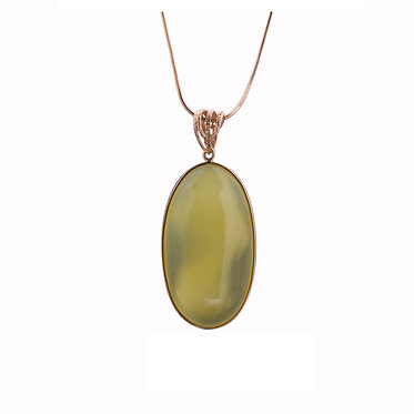Pureosity Yellow Amber Pendant