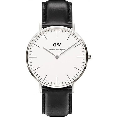 Daniel Wellington Men's Classic Sheffield Silver 40mm