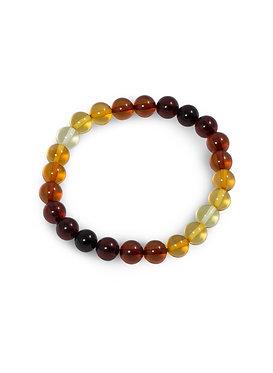Pureosity Mixed Amber Stretch Bracelet