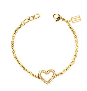 Tommy Hilfiger Heart Bracelet Gold