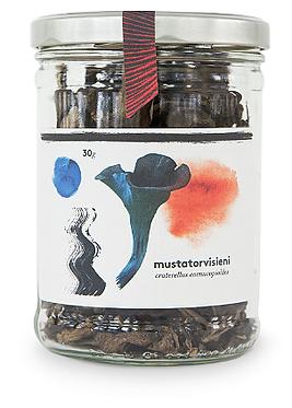 Kaavi Porcini Dried Black Chanterelle