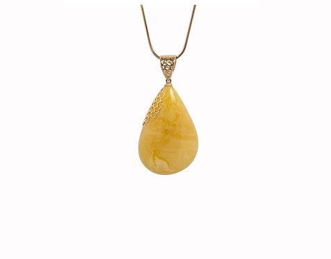 Pureosity Yellow Amber Pendant