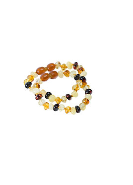 Pureosity Amber Teething Bracelet Set