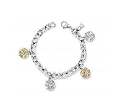 Tommy Hilfiger Pave Ball Bracelet
