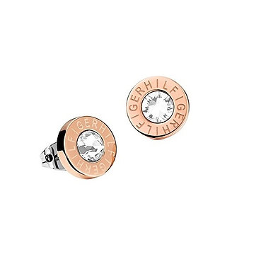 Tommy Hilfiger Stud Earrings Rose Gold
