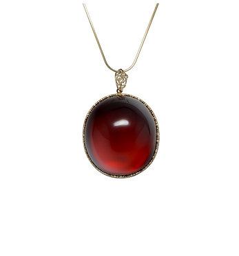 Pureosity Cherry Amber Pendant