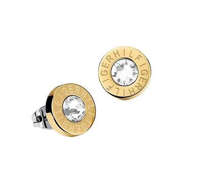 Tommy Hilfiger Stud Earrings Gold