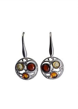 Pureosity Mixed Amber Earrings