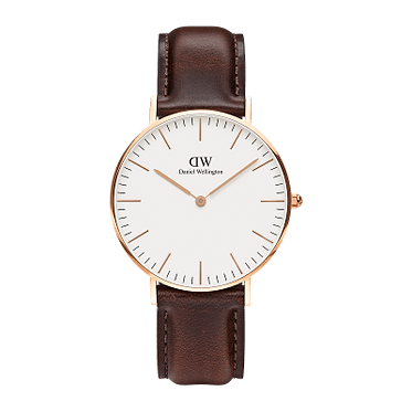 Daniel Wellington Ladies' Classic Bristol Rose Gold