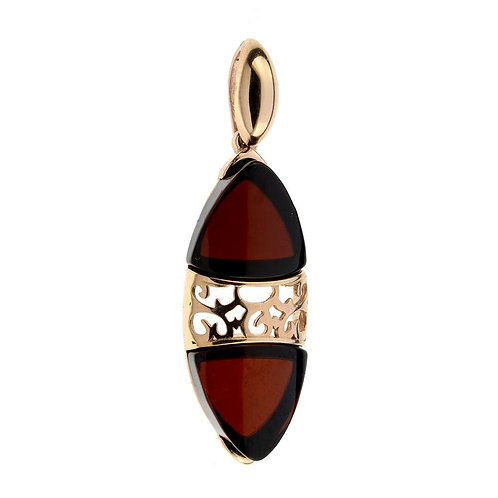 Red Amber Pendant