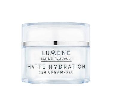 Lumene Lähde Matte Hydration 24H Cream-Gel