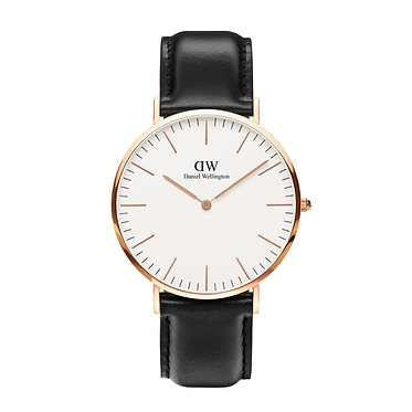 Daniel Wellington Men's Classic Sheffield Rose Gold