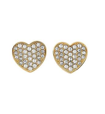 Tommy Hilfiger Heart Stud Earrings