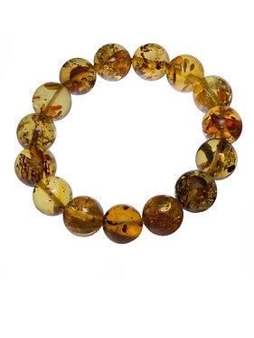 Pureosity Amber Stretch Bracelet
