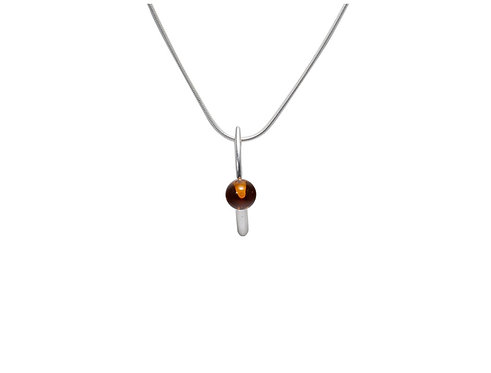 Pureosity Cognac Amber Necklace